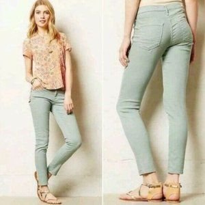 Anthropologie AG The Stevie Ankle Zip Jeans 26